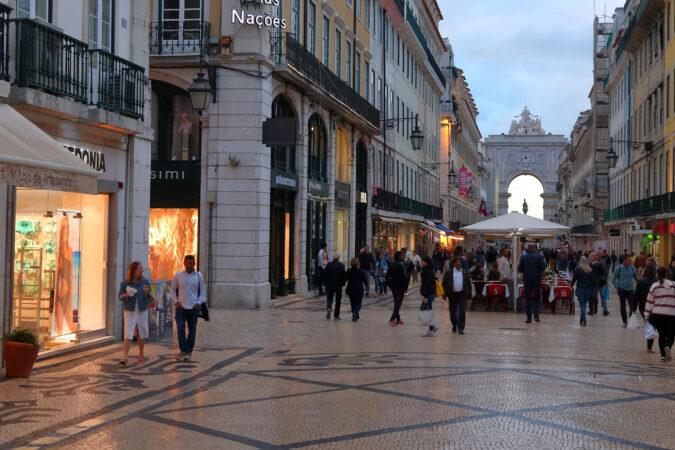 Colombo-senteret Lisboa Portugal shoppingsenter kjopesenter